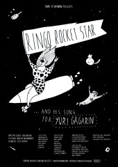 93-poster_RINGO ROCKET STAR and his song for Yuri Gagarin